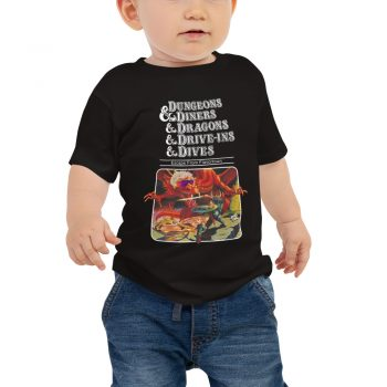 Dungeons Diners Dragons Drive Ins Dives Baby Jersey Short Sleeve Tee
