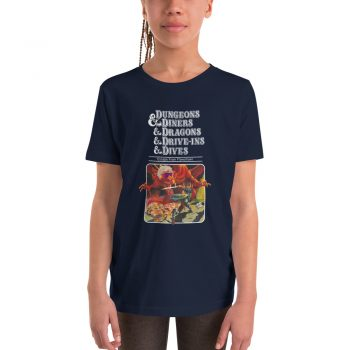 Dungeons Diners Dragons Drive Ins Dives Youth T Shirt