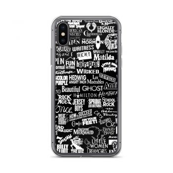 Broadway Baby iPhone X Case, XS, XR, XS Max