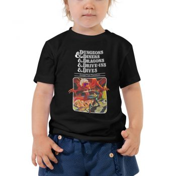 Dungeons Diners Dragons Drive Ins Dives Toddler Tee Shirt