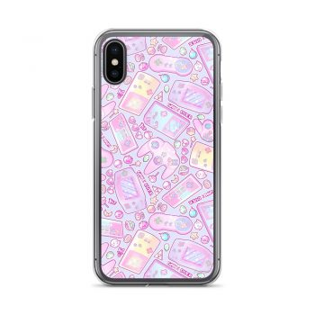 Game Over - Power Up iPhone X Case, XS, XR, XS Max