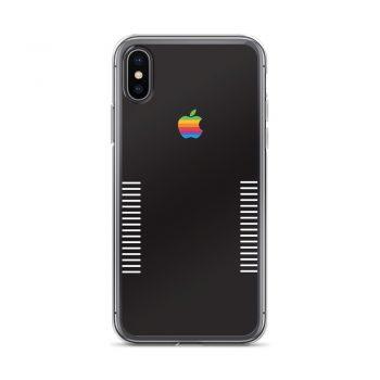 Apple Retro Black Edition iPhone X Case, XS, XR, XS Max