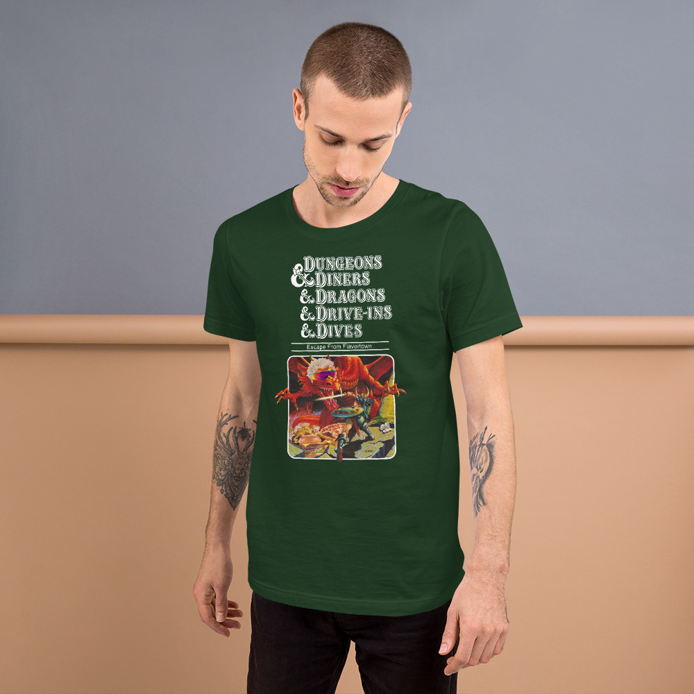 Dungeons Diners Dragons Drive Ins Dives Unisex T Shirt