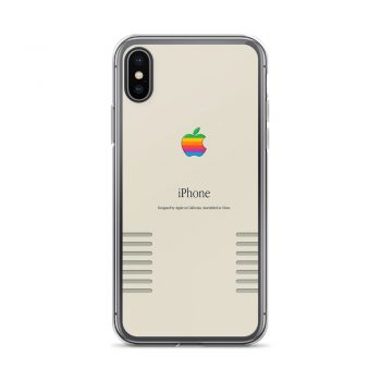 Apple iPhone Retro Edition iPhone X Case, XS, XR, XS Max
