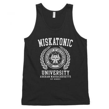 Miskatonic University Quote Tank Top Unisex
