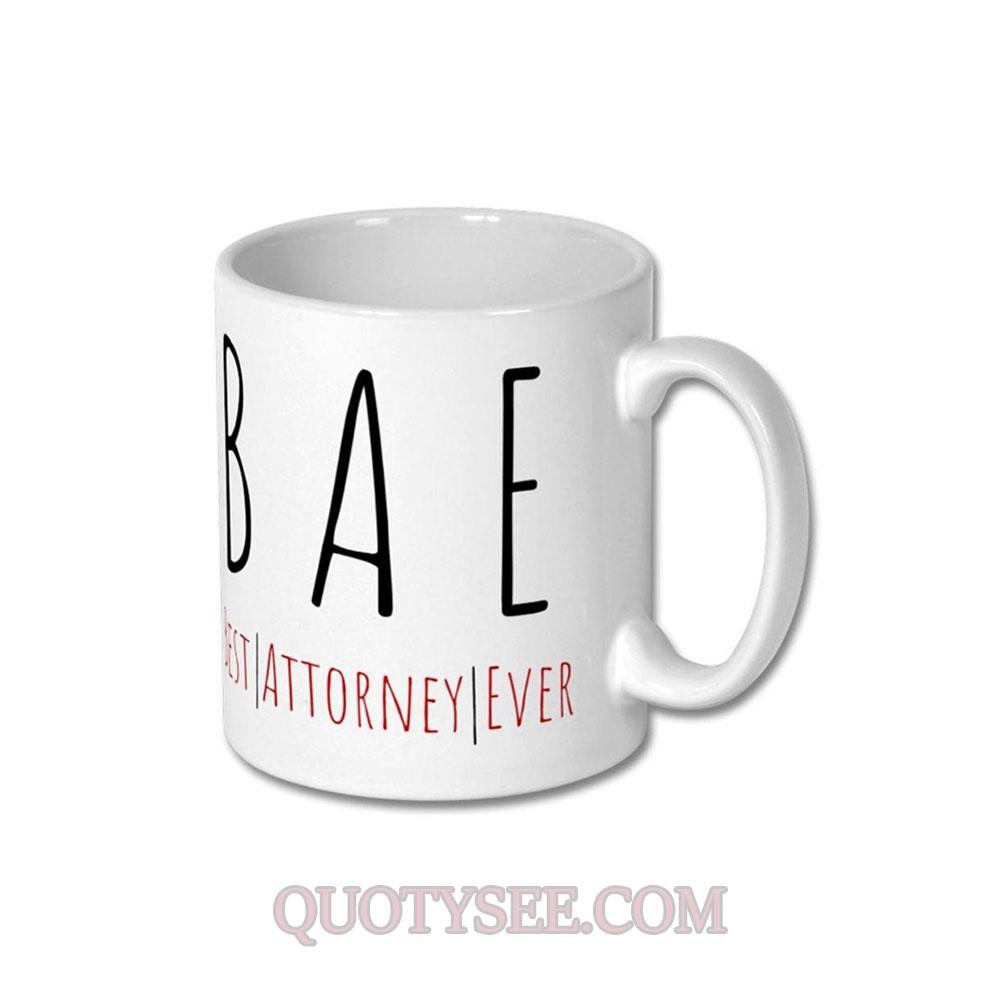 BAE Best Attorney Ever Mug