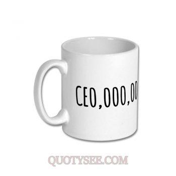 CEO OOO OOO Mug