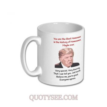 Donald Trump Best Homeowner Mug