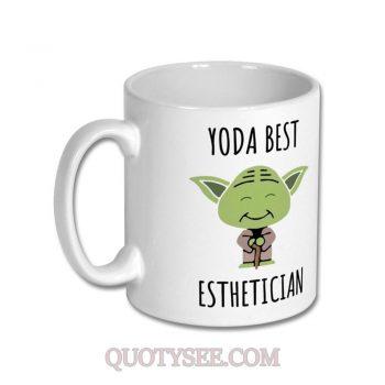 Yoda Best Esthetician Mug