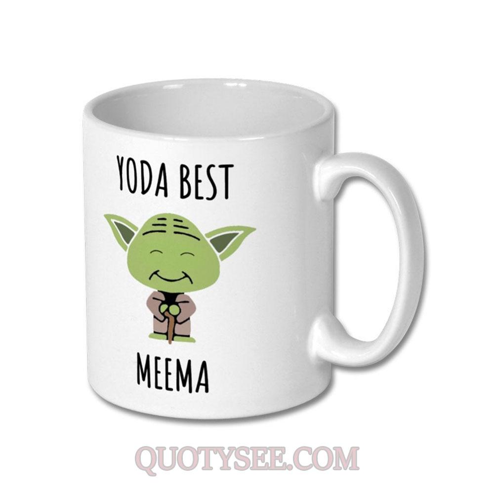 Yoda Best Meema Mug