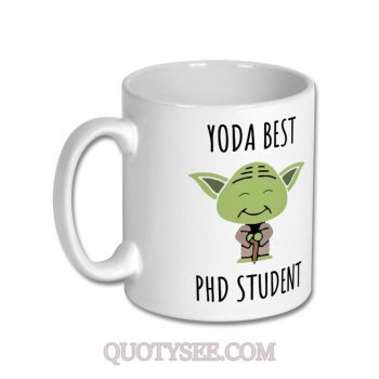 Yoda Best PHD Student Mug