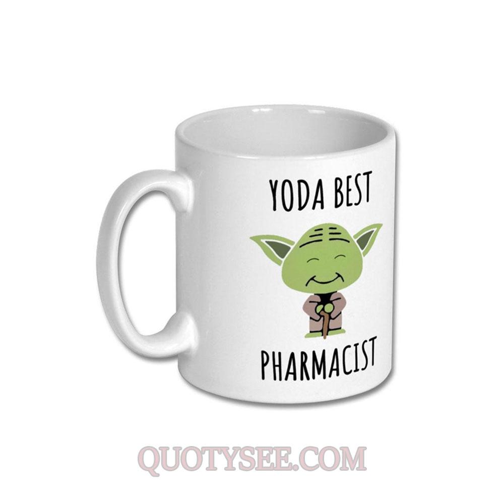 Yoda Best Pharmacist Mug
