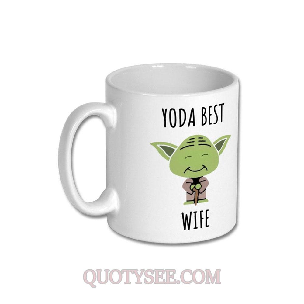 Yoda Best Wife Mug