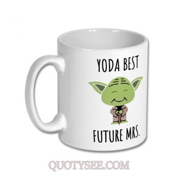 Yoda Future Mrs Mug