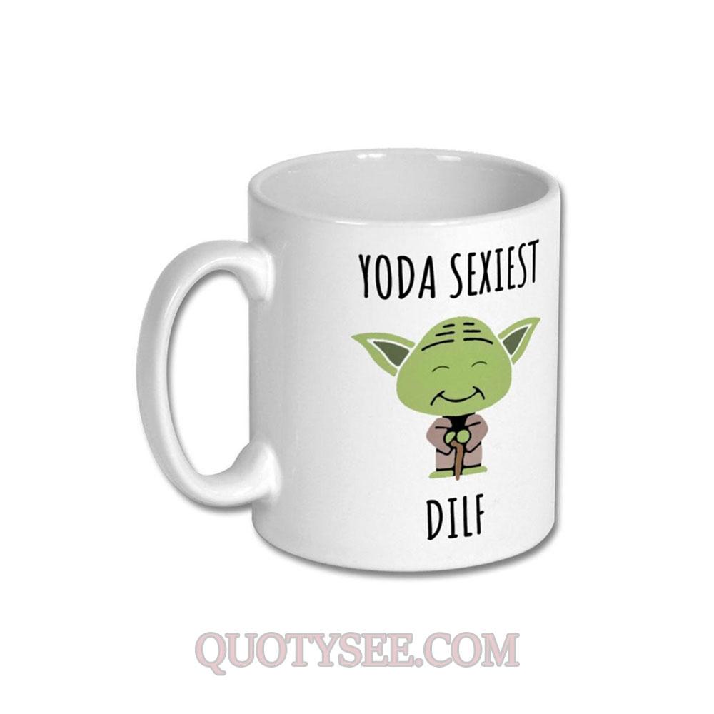 Yoda Sexiest DILF Mug