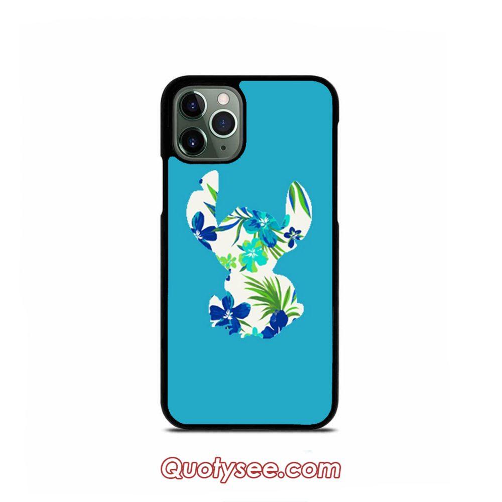 Tropical Stitch iPhone Case 11 11 Pro 11 Pro Max XS Max XR X 8 8 Plus 7 7 Plus 6 6S