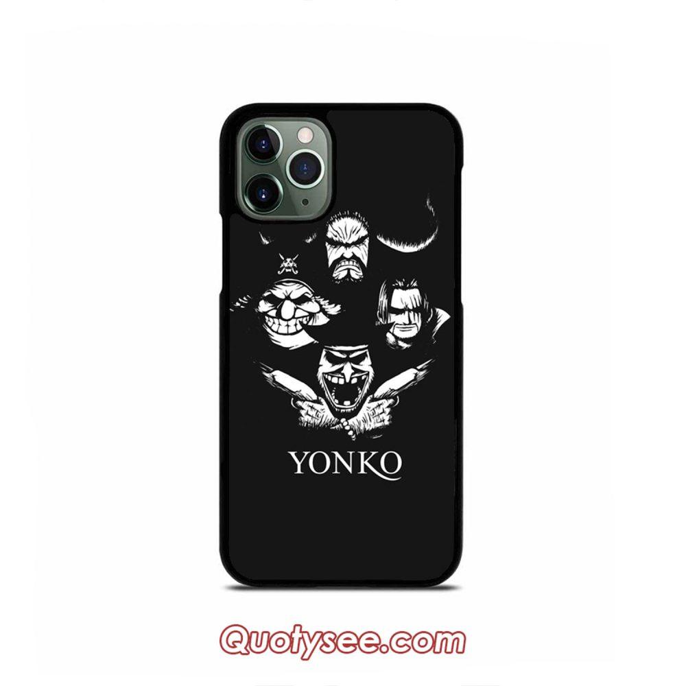 Yonko Team One Piece iPhone Case 11 11 Pro 11 Pro Max XS Max XR X 8 8 Plus 7 7 Plus 6 6S