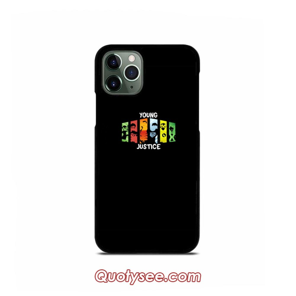 Young Justice iPhone Case 11 11 Pro 11 Pro Max XS Max XR X 8 8 Plus 7 7 Plus 6 6S