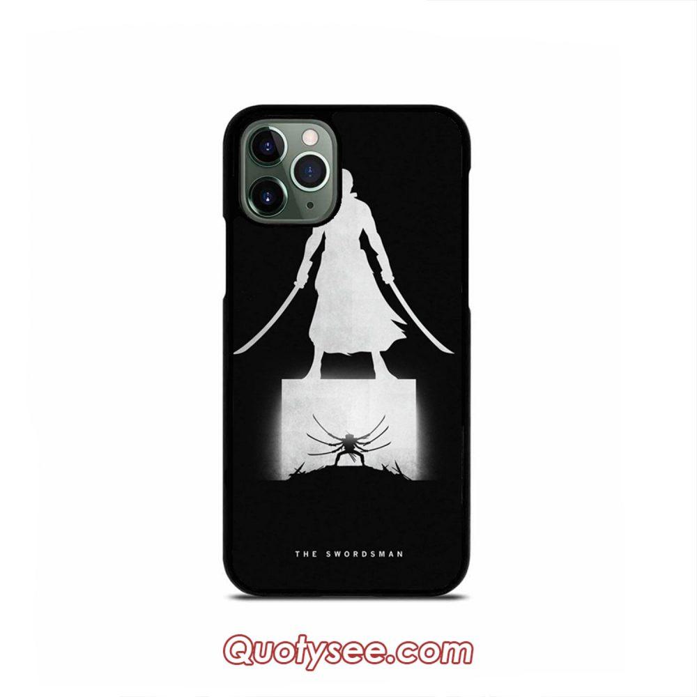 Zoro Swordman One Piece iPhone Case 11 11 Pro 11 Pro Max XS Max XR X 8 8 Plus 7 7 Plus 6 6S