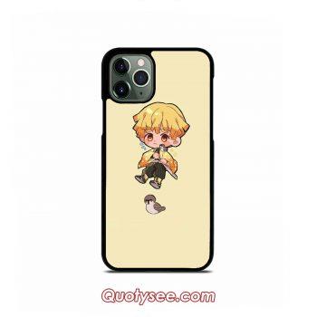 Cute Zenitsu Agatsuma iPhone 11 11 Pro 11 Pro Max Case