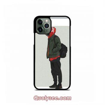 Kakashi Supreme Hype Style iPhone 11 11 Pro 11 Pro Max Case