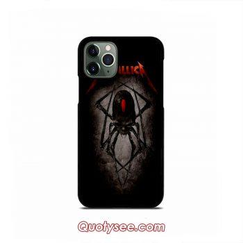 Metallica Black Widow Spider iPhone 11 11 Pro 11 Pro Max Case