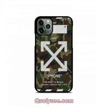 Off White Camo Army iPhone 11 11 Pro 11 Pro Max Case