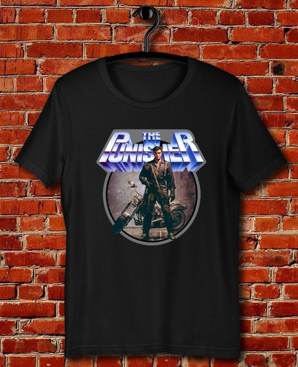 80s Comic Classic The Punisher Poster Art Quote Unisex T Shirt