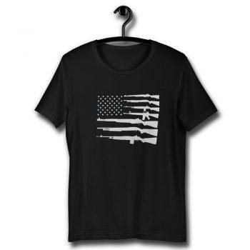 United States Of America American Flag 2nd Amendment Unisex T Shirt