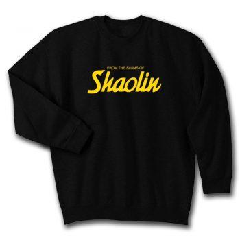 Wu Tang Clan From The Slums Of Shaolin Unisex Sweatshirt