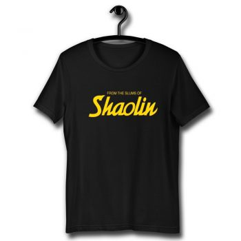 Wu Tang Clan From The Slums Of Shaolin Unisex T Shirt