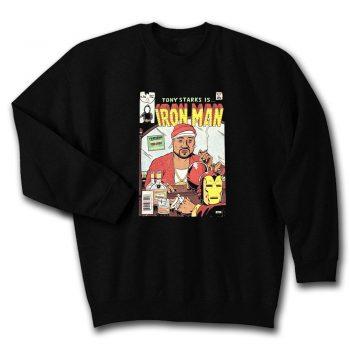 Wu Tang Tony Starks Is Iron Man Unisex Sweatshirt