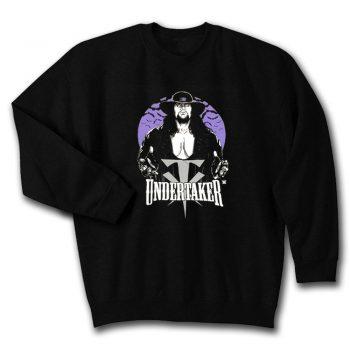 Wwe The Undertaker Bats Vintage Legends Wwf Unisex Sweatshirt