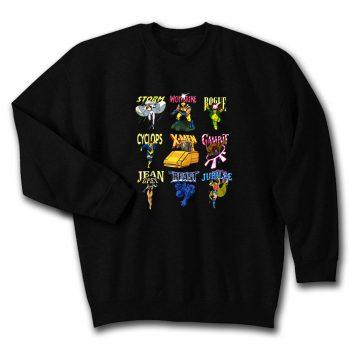 X Men 90s Animated Series Group Marvel Comics Unisex Sweatshirt