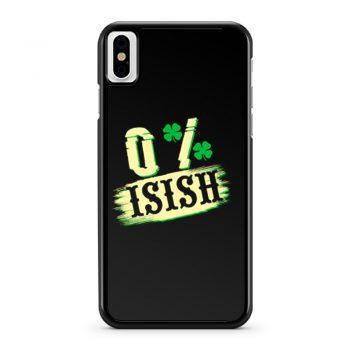 0 Irish St iPhone X Case iPhone XS Case iPhone XR Case iPhone XS Max Case