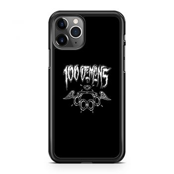 100 Demons Hardcore Punk Band iPhone 11 Case iPhone 11 Pro Case iPhone 11 Pro Max Case