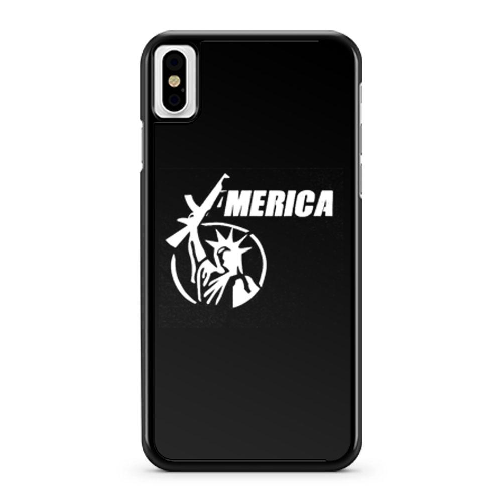 2nd Amendment Ar15 Liberty iPhone X Case iPhone XS Case iPhone XR Case iPhone XS Max Case