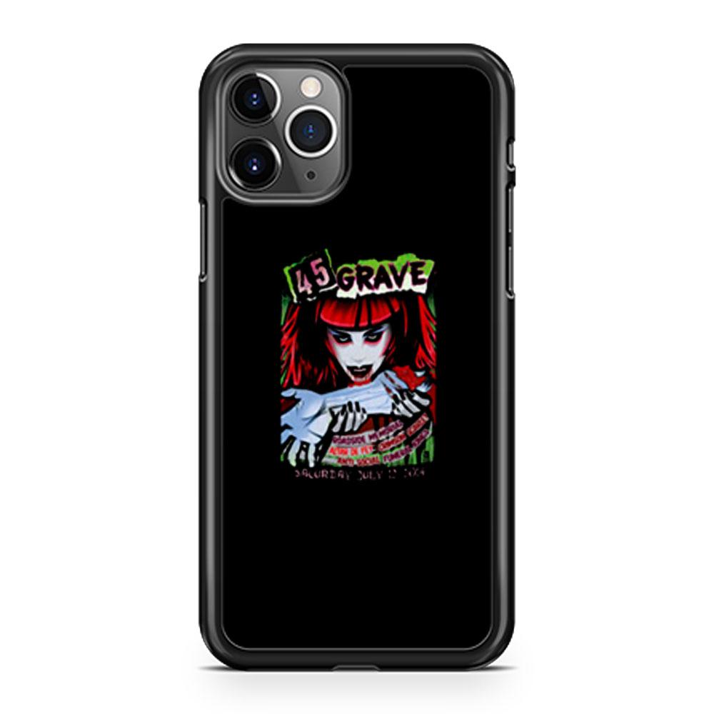 45 Grave iPhone 11 Case iPhone 11 Pro Case iPhone 11 Pro Max Case