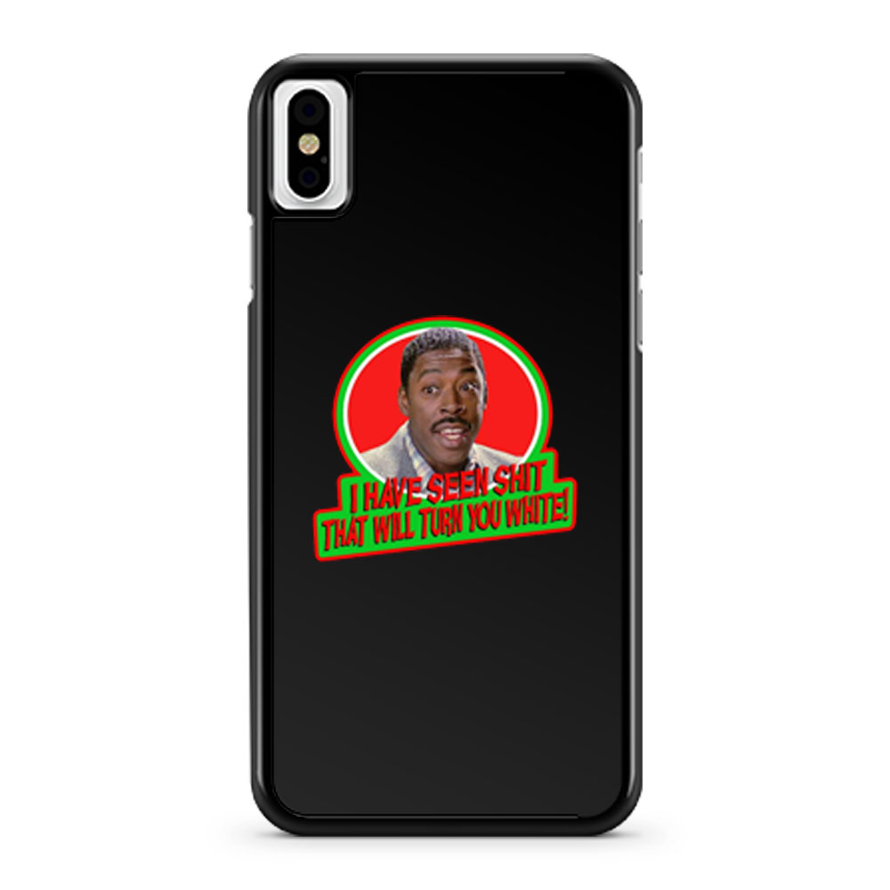 80s Classic Ghostbusters Winston Sh That Will Turn You White iPhone X Case iPhone XS Case iPhone XR Case iPhone XS Max Case