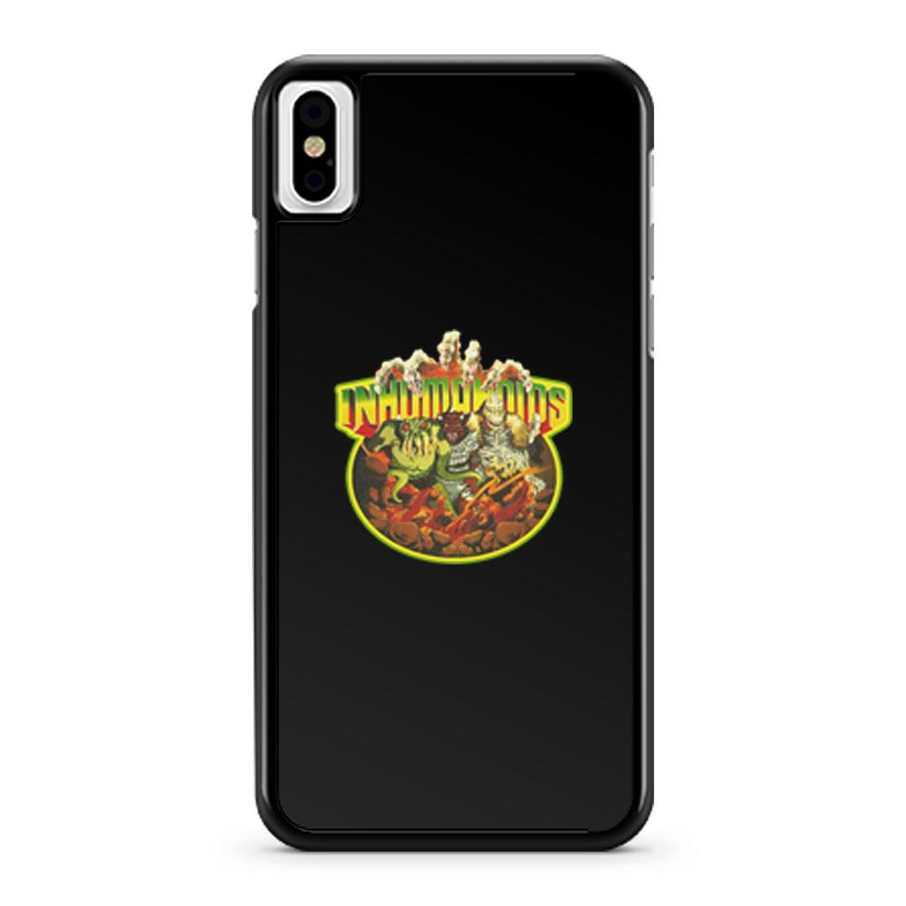 80s Classic Toyline Inhumanoids iPhone X Case iPhone XS Case iPhone XR Case iPhone XS Max Case