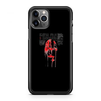 A Short Film About Killing iPhone 11 Case iPhone 11 Pro Case iPhone 11 Pro Max Case
