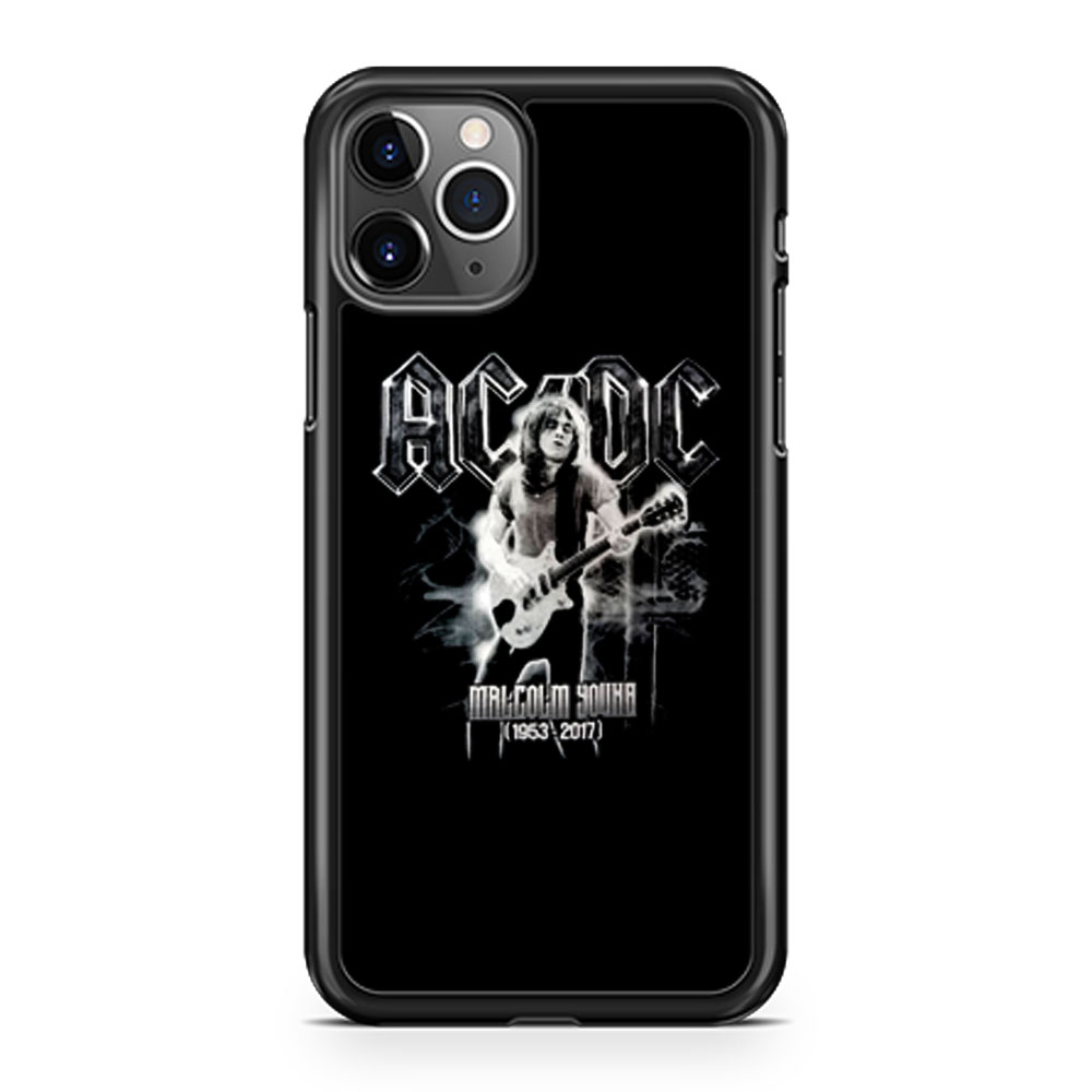 ACDC Malcolm Young iPhone 11 Case iPhone 11 Pro Case iPhone 11 Pro Max Case