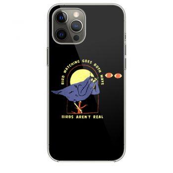 Bird Watching Goes Both Ways Bird Arent Real iPhone 12 Case iPhone 12 Pro Case iPhone 12 Mini iPhone 12 Pro Max Case