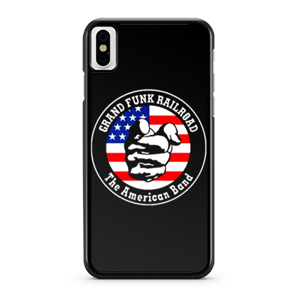 Grand Funk Railroad iPhone X Case iPhone XS Case iPhone XR Case iPhone XS Max Case