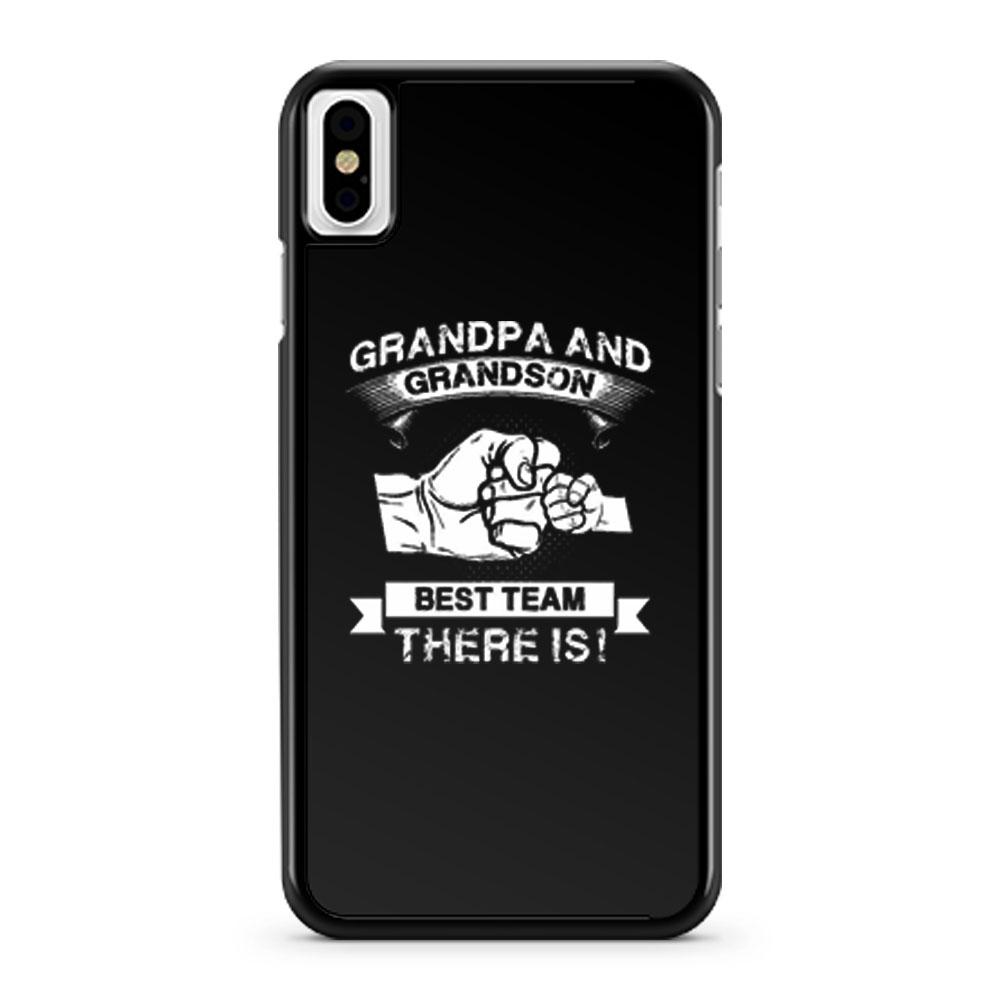Grandpa and Grandson iPhone X Case iPhone XS Case iPhone XR Case iPhone XS Max Case