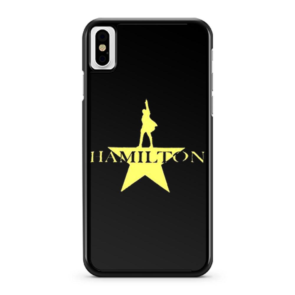 Hamilton American Musical Hamilton On Broadway iPhone X Case iPhone XS Case iPhone XR Case iPhone XS Max Case