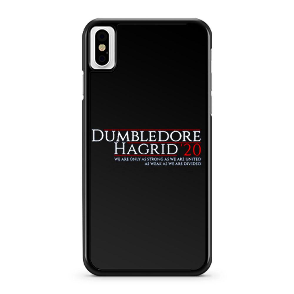 Harry Potter 2020 Election Dumbledore And Hagrid iPhone X Case iPhone XS Case iPhone XR Case iPhone XS Max Case