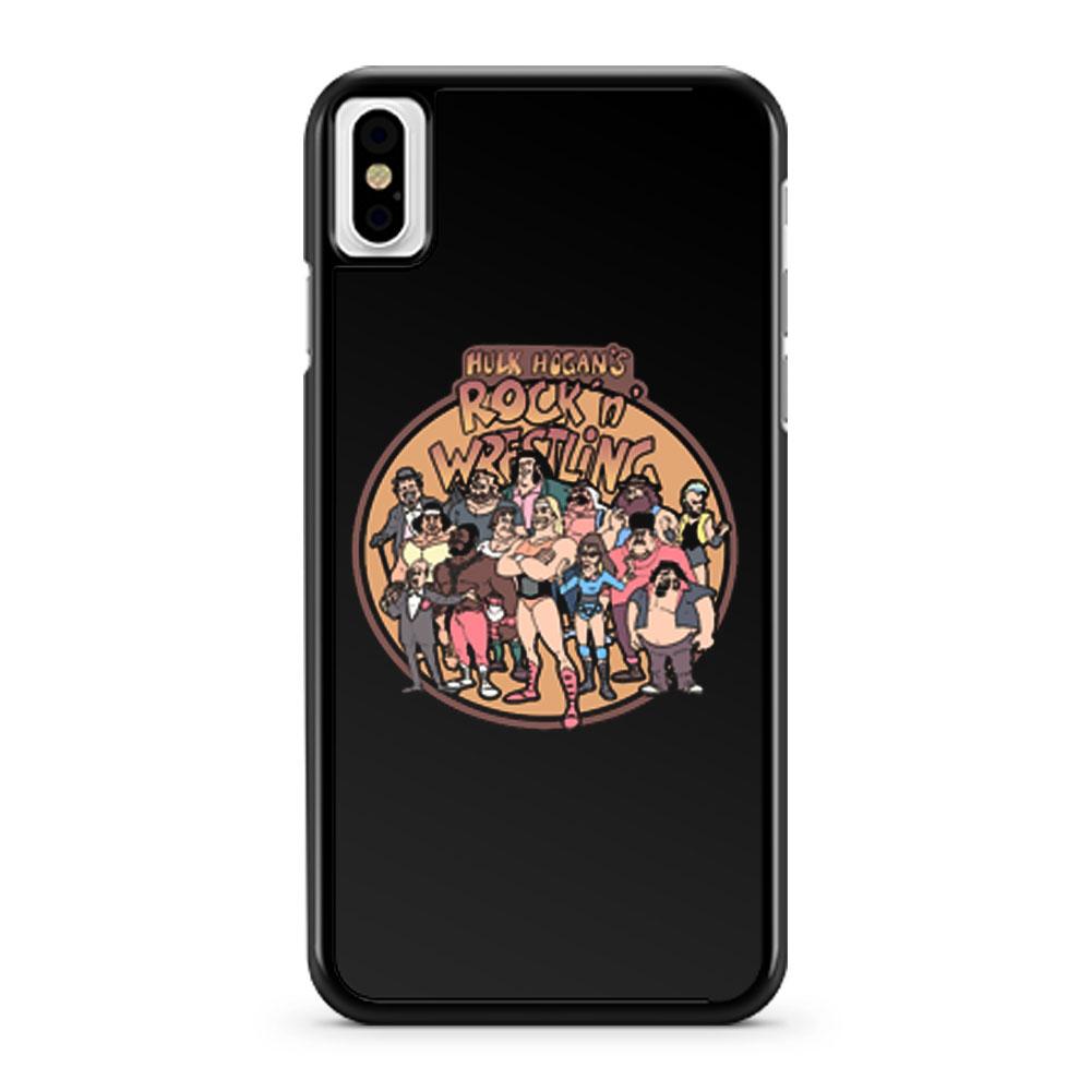 Hulk Hogans Rock N Wrestling iPhone X Case iPhone XS Case iPhone XR Case iPhone XS Max Case