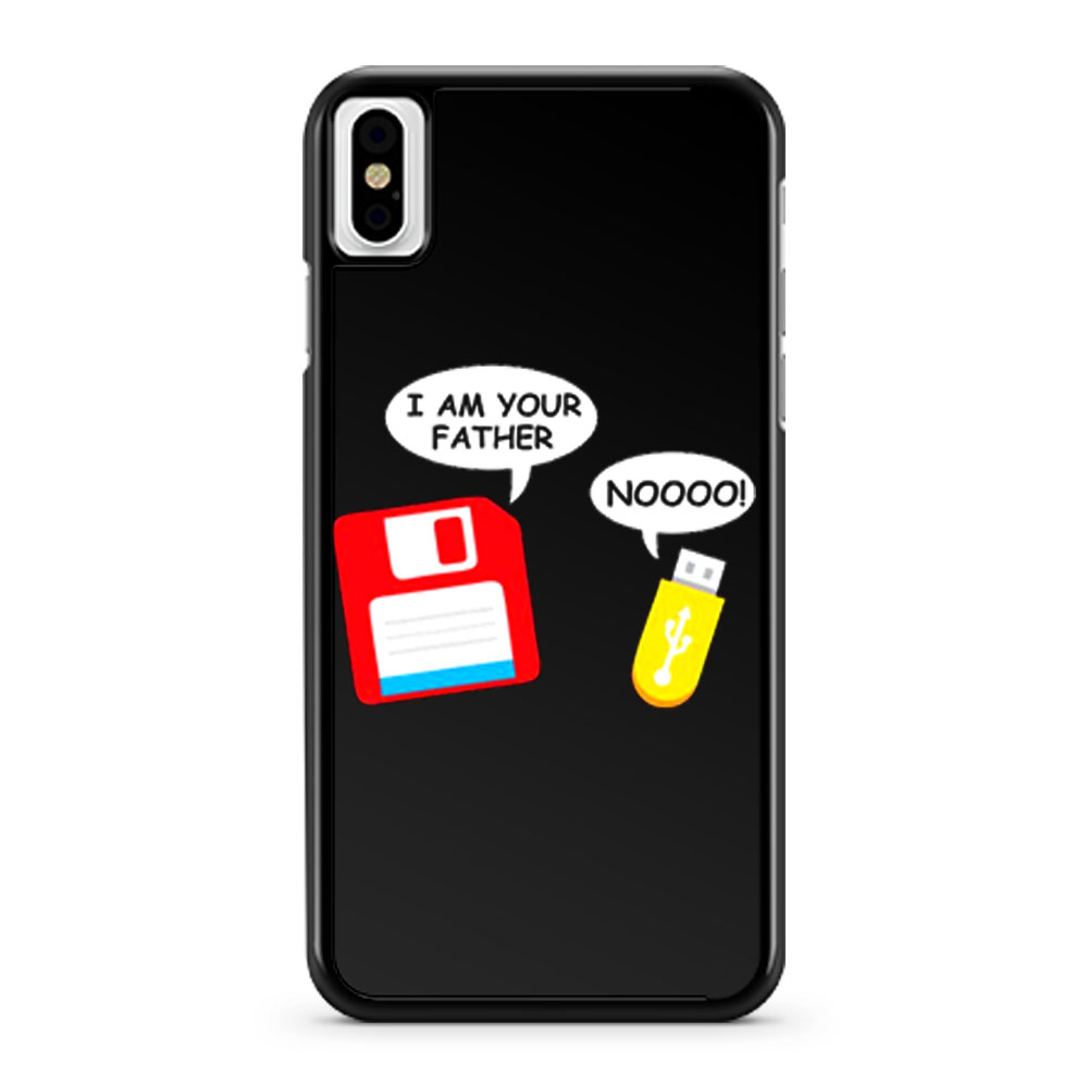 I Am Your Father Funny Computer Geek iPhone X Case iPhone XS Case iPhone XR Case iPhone XS Max Case