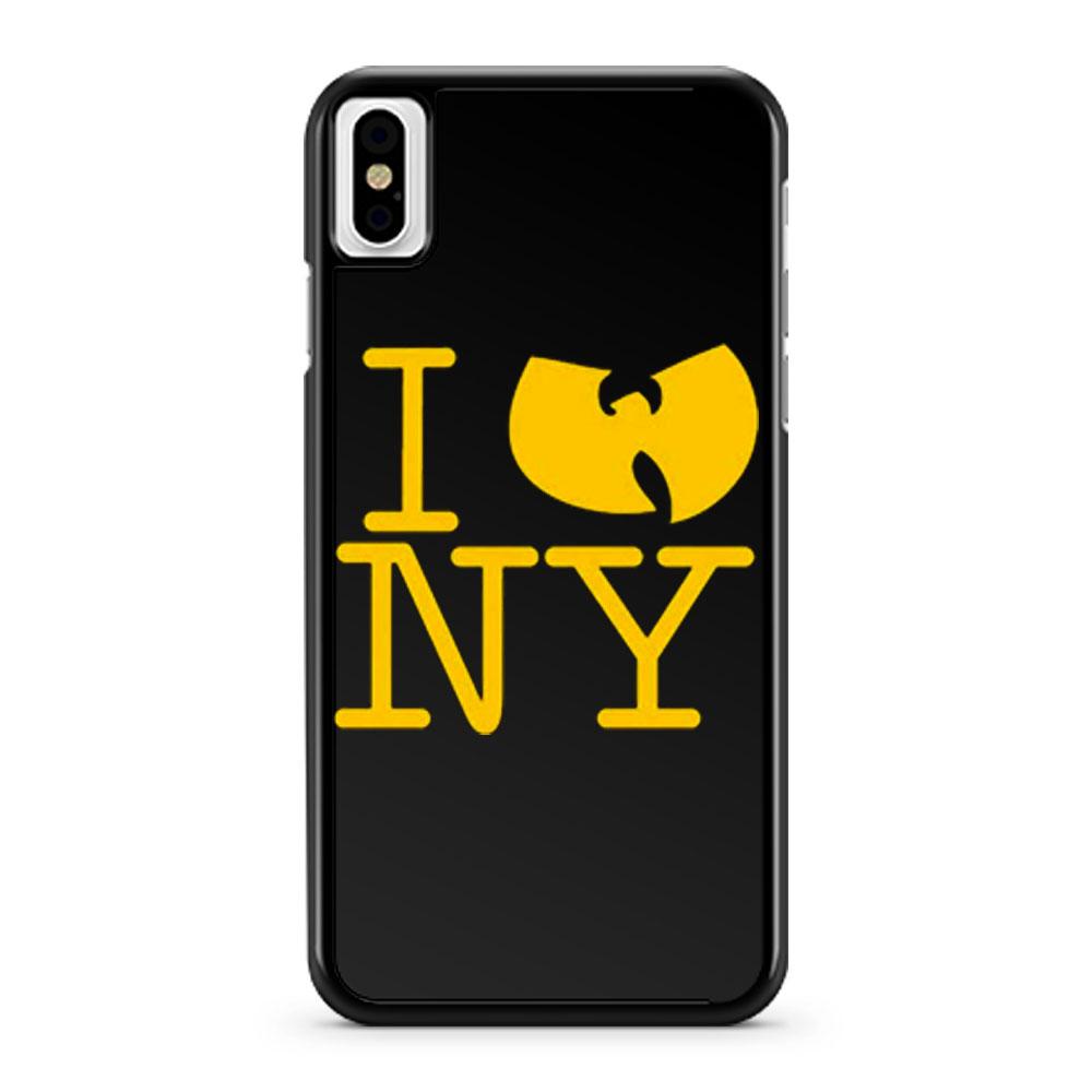 I Wu Tang Ny Clan Gza Rza Odb Hip Hop iPhone X Case iPhone XS Case iPhone XR Case iPhone XS Max Case